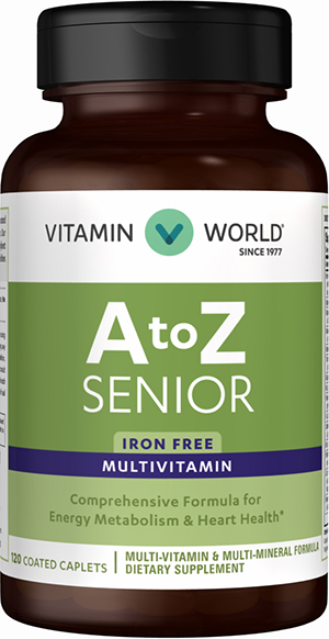 ABC Plus® Senior Multivitamins VW.ABC SENIOR.120.CPT