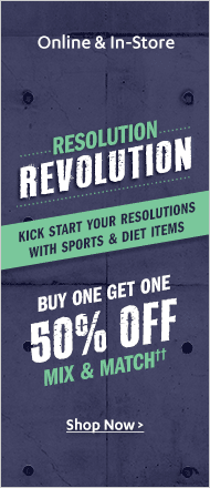 Sports & Diet BOGO 50% Sale