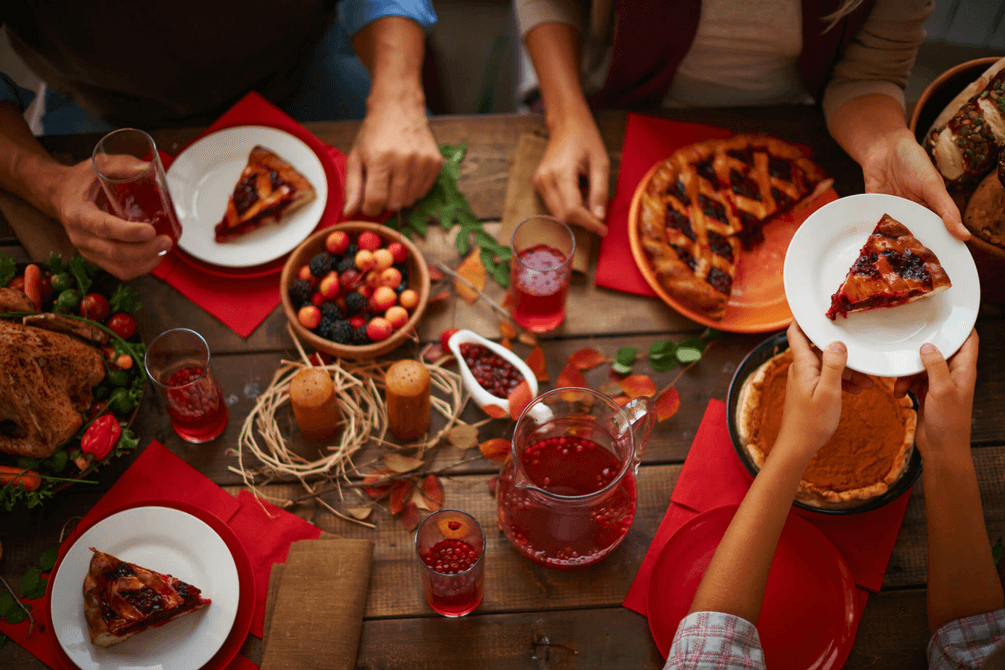 Tips and tricks on how to feel healthy for this Thanksgiving