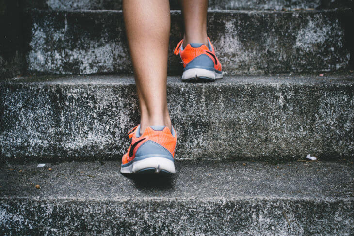 20-Minute Stair Workout