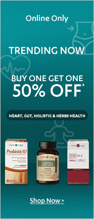 BOGO 50% off Wellness Trends Sale