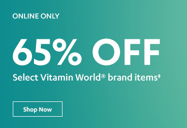 65% off Vitamin World Brand