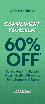 60% off Compliment Sale