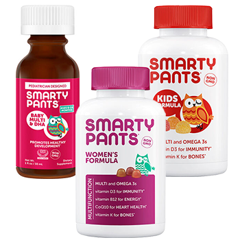 Buy 1 Get 1 50% SmartyPants Multivitamins
