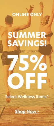 Summer Savings 75% off