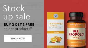 Mobile Buy 2 Get 3 Free on Overstock vitamins and supplements