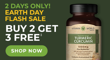 Earth Day Flash Sale!  2 Days Only!  Buy 2 Get 3 Free Minerals, Herbs, and Heart Health